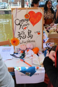 Orange Heart for Fukushima