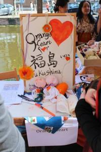 Orange Heart for Fukushima