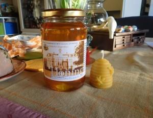 ハーグのクリンゲンダールの養蜂場からご寄付いただいているはちみつです。